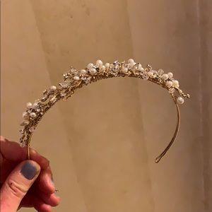 Tiara / bejeweled headband